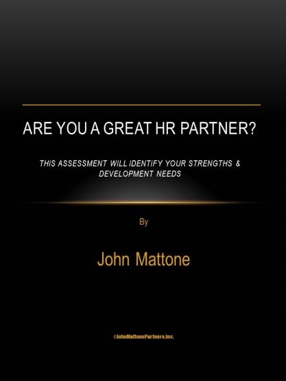 Are You a Great HR Partner