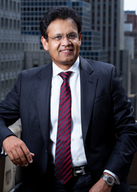 Kris Canekeratne, Chairman and CEO of Virtusa