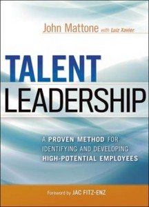 Talent Leadership Book By John Mattone