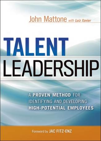 Talent Leadership Speaker - Book Cover